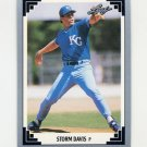 1991 Leaf Baseball #161 Storm Davis - Kansas City Royals