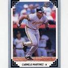 1991 Leaf Baseball #160 Carmelo Martinez - Pittsburgh Pirates