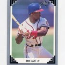 1991 Leaf Baseball #129 Ron Gant - Atlanta Braves