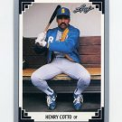 1991 Leaf Baseball #113 Henry Cotto - Seattle Mariners