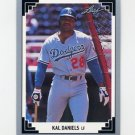 1991 Leaf Baseball #112 Kal Daniels - Los Angeles Dodgers