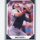 1991 Leaf Baseball #054 Brian Harper - Minnesota Twins