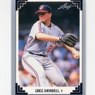 1991 Leaf Baseball #006 Greg Swindell - Cleveland Indians