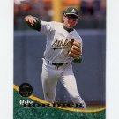 1994 Leaf Baseball #128 Mike Bordick - Oakland A's