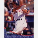 1994 Leaf Baseball #086 Damion Easley - California Angels