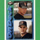1995 Topps Baseball #658 Dan Carlson / Keith Williams - San Francisco Giants