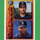 1995 Topps Baseball #642 Eddy Diaz RC / Desi Relaford - Seattle Mariners