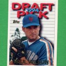 1995 Topps Baseball #621 Paul Wilson - New York Mets