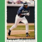 1995 Topps Baseball #614 Reggie Jefferson - Seattle Mariners