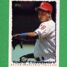 1995 Topps Baseball #608 Tony Longmire - Philadelphia Phillies