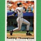 1995 Topps Baseball #556 Robby Thompson - San Francisco Giants