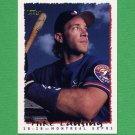 1995 Topps Baseball #548 Mike Lansing - Montreal Expos