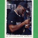 1995 Topps Baseball #517 Eric Young - Colorado Rockies