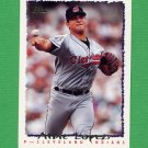 1995 Topps Baseball #478 Albie Lopez - Cleveland Indians