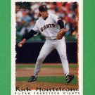 1995 Topps Baseball #453 Rich Monteleone - San Francisco Giants