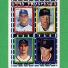 1995 Topps Baseball #429 Rob Welch RC / Greg Hansell / Brian Sackinsky / Carey Paige