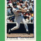 1995 Topps Baseball #413 Danny Tartabull - New York Yankees