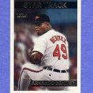 1995 Topps Baseball #346 Armando Benitez - Baltimore Orioles