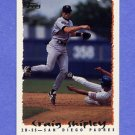 1995 Topps Baseball #328 Craig Shipley - San Diego Padres
