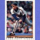 1995 Topps Baseball #307 Mike Henneman - Detroit Tigers