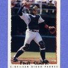 1995 Topps Baseball #298 Phil Clark - San Diego Padres