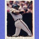 1995 Topps Baseball #261 Dwight Smith - Baltimore Orioles