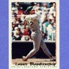 1995 Topps Baseball #253 Lance Blankenship - Oakland A's
