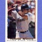 1995 Topps Baseball #243 Melvin Nieves - San Diego Padres