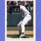 1995 Topps Baseball #224 Mark Acre - Oakland A's