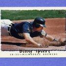 1995 Topps Baseball #188 Billy Spiers - Milwaukee Brewers