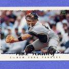 1995 Topps Baseball #142 Mike Stanley - New York Yankees