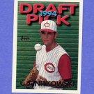 1995 Topps Baseball #084 C.J. Nitkowski - Cincinnati Reds