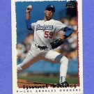 1995 Topps Baseball #066 Ismael Valdes RC - Los Angeles Dodgers