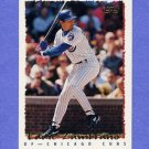 1995 Topps Baseball #034 Eddie Zambrano - Chicago Cubs