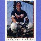 1995 Topps Baseball #032 Tony Tarasco - Atlanta Braves