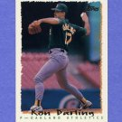 1995 Topps Baseball #016 Ron Darling - Oakland A's