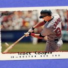 1995 Topps Baseball #004 Scott Cooper - Boston Red Sox