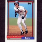 1992 Topps Baseball #770 Sid Bream - Atlanta Braves
