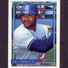 1992 Topps Baseball #767 Kal Daniels - Los Angeles Dodgers