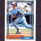 1992 Topps Baseball #761 Mike Fitzgerald - Montreal Expos