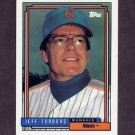 1992 Topps Baseball #759 Jeff Torborg MG - New York Mets