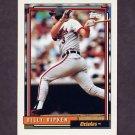 1992 Topps Baseball #752 Billy Ripken - Baltimore Orioles