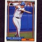 1992 Topps Baseball #745 Dave Magadan - New York Mets