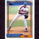 1992 Topps Baseball #725 Dwight Gooden - New York Mets