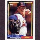 1992 Topps Baseball #702 Lee Stevens - California Angels