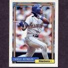 1992 Topps Baseball #670 Harold Reynolds - Seattle Mariners
