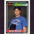 1992 Topps Baseball #654 Allen Watson RC - St. Louis Cardinals