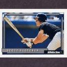 1992 Topps Baseball #648 Scott Fletcher - Chicago White Sox
