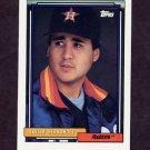 1992 Topps Baseball #640 Xavier Hernandez - Houston Astros