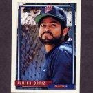 1992 Topps Baseball #617 Junior Ortiz - Minnesota Twins